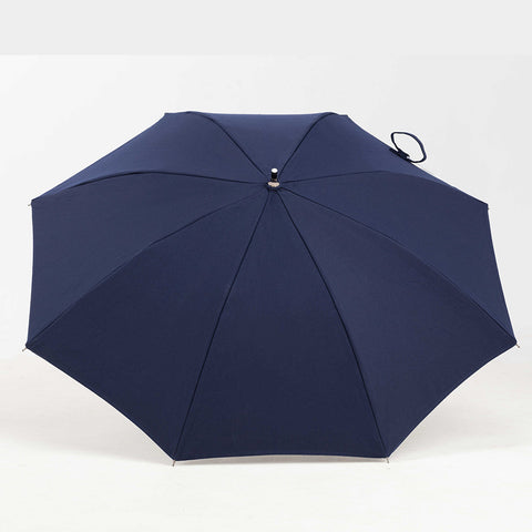 Sun and Rain Personal Umbrella Navy Blue featuring Sunbrella™ Fabric
