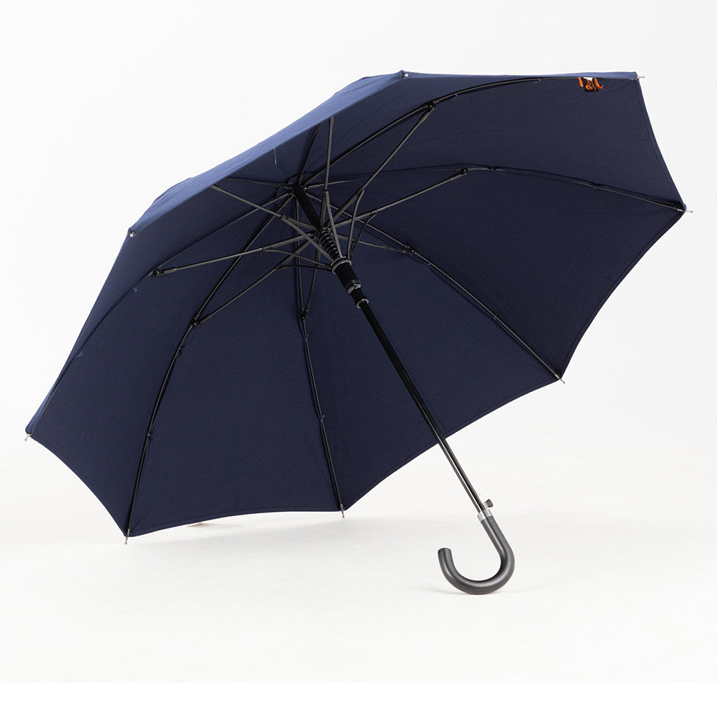 Sun Protection Umbrella Navy Blue (small) featuring Sunbrella™ Fabric w/ sleeve and shoulder strap