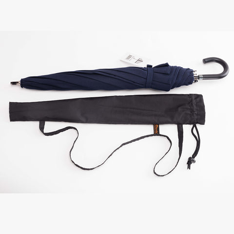 Navy Blue (small) Sun Protection Umbrella™ featuring Sunbrella™ Fabric w/ sleeve and shoulder strap