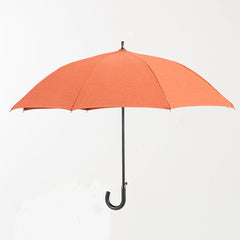 Sun and Rain Personal Umbrella Brick Orange featuring Sunbrella™ Fabric