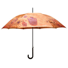 Kokopelli Southwest Rock Art Stick Umbrella Auto Open Premium Quality