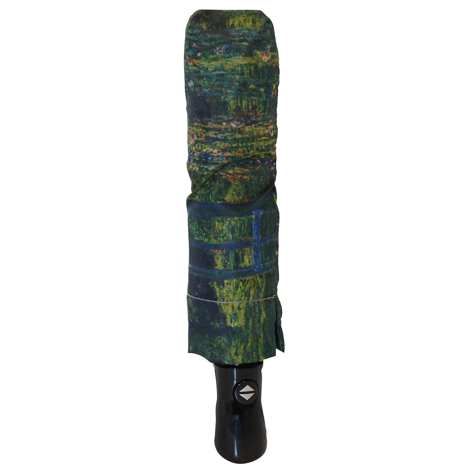 "Monet's Garden at Giverny 12"" Collapsible Auto Open and Close Premium Umbrella"