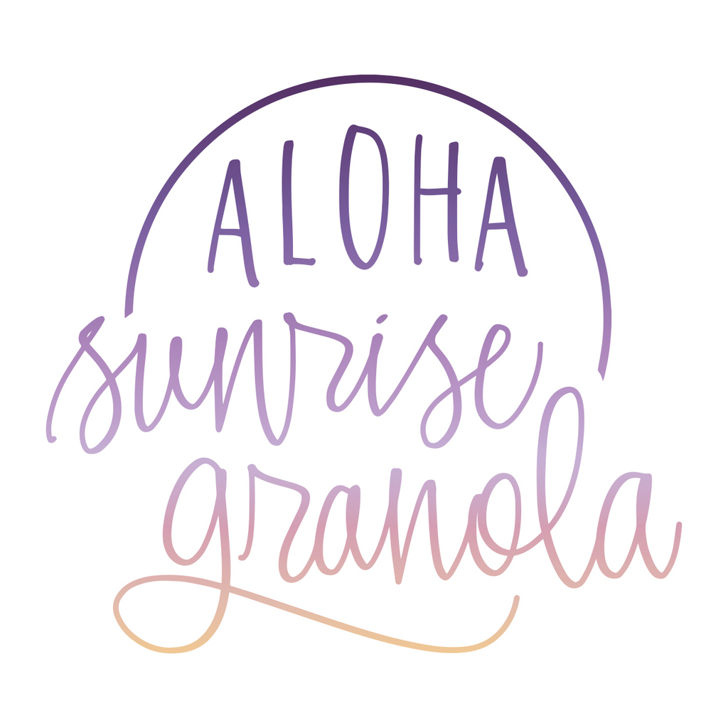 The Stick & The Ball is now Aloha Sunrise Granola!