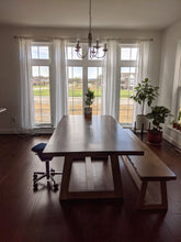 Load image into Gallery viewer, T Base Dining Table