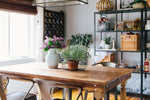 Spindle Farmhouse Dining Table