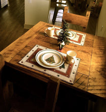 Load image into Gallery viewer, Square Farmhouse Dining Table