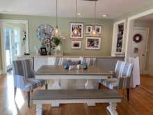 Load image into Gallery viewer, Herringbone Dining Table