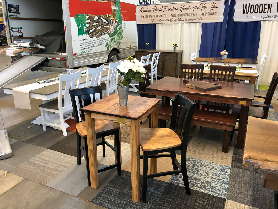 Pub height bistro table set