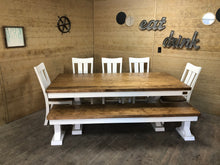 Load image into Gallery viewer, Trestle X Farmhouse Dining Table