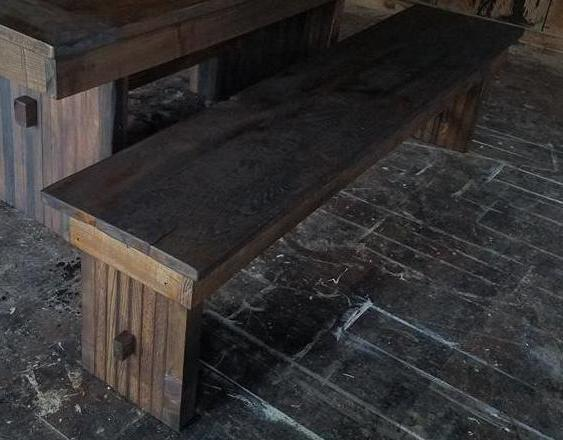 "Our standard benches are 18"" wide for stability and comfort and 18"" high. Wooden Whale Workshop Custom Woodwork, Butler, PA ready to ship and custom woodwork.Unique and beautiful. Great prices."