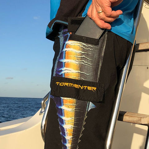 Tormenter Men's Side To Fishing Stretch Boardshorts