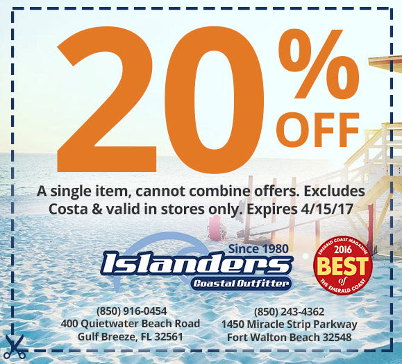 Islanders Coastal Outfitter Coupon