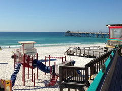 The playground at The Boardwalk on Okaloosa Island