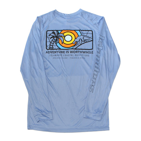 Islanders Adventure is Worthwhile Long Sleeve Sunshirt
