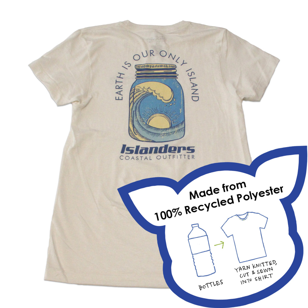 Islanders Earth is Our Only Island T-Shirt