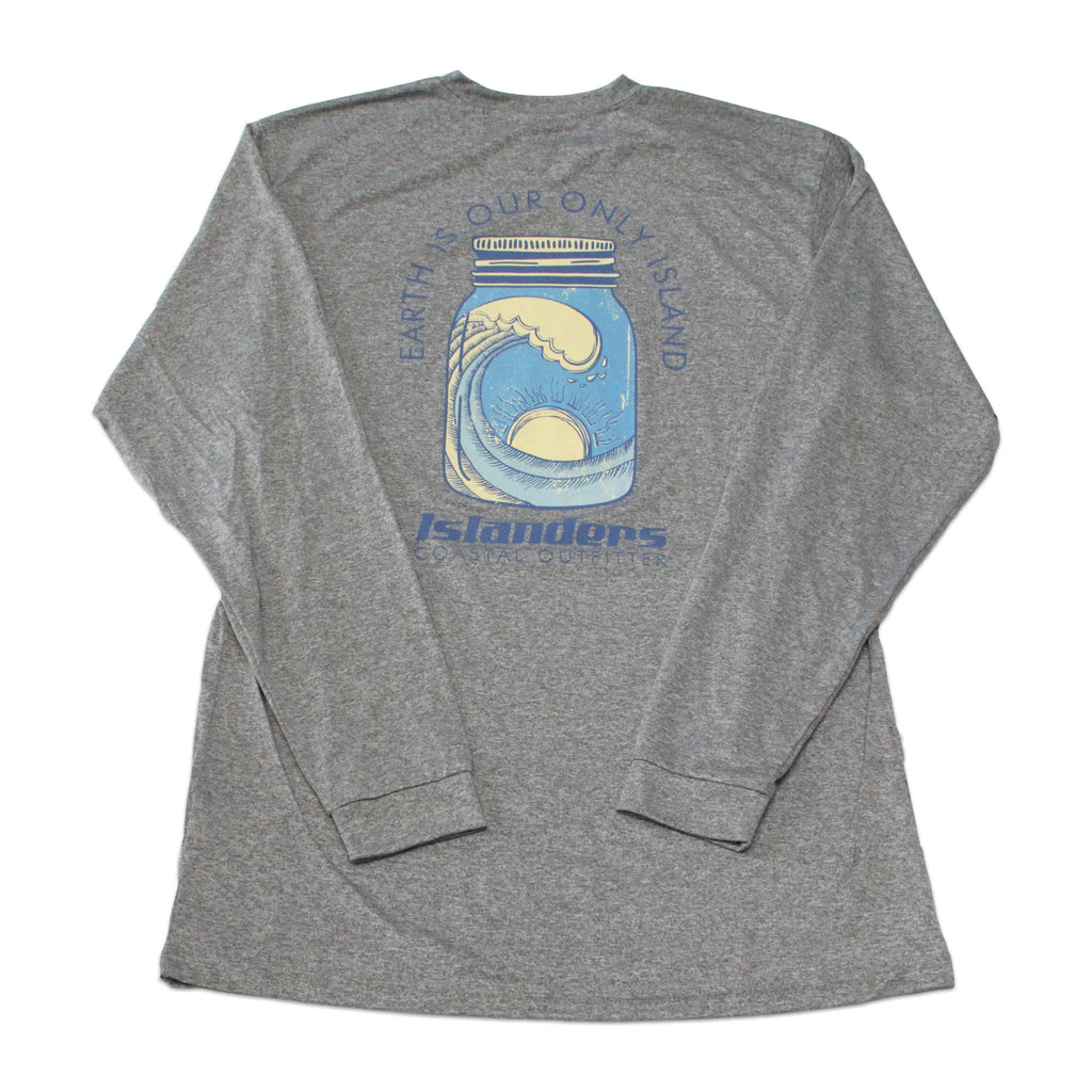 Islanders Earth is Our Only Island Long Sleeve Sun Shirt