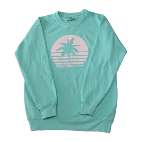 Islanders Palm Tree Sweater