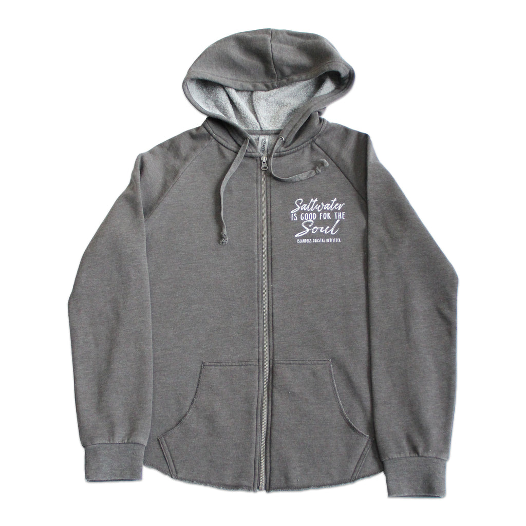 Islanders Saltwater is Good for the Soul Zip Hoodie