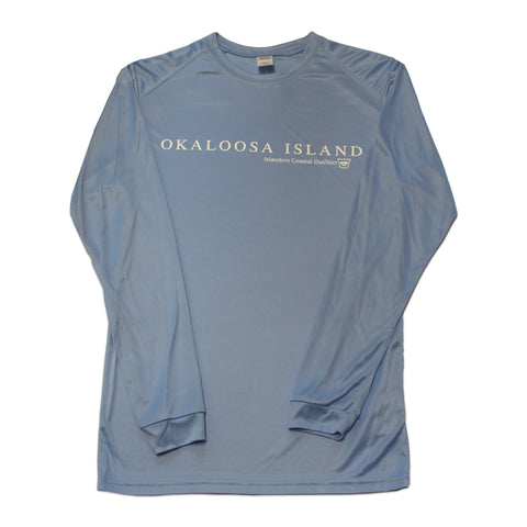 Islanders Simple Okaloosa Island Long Sleeve Sunshirt