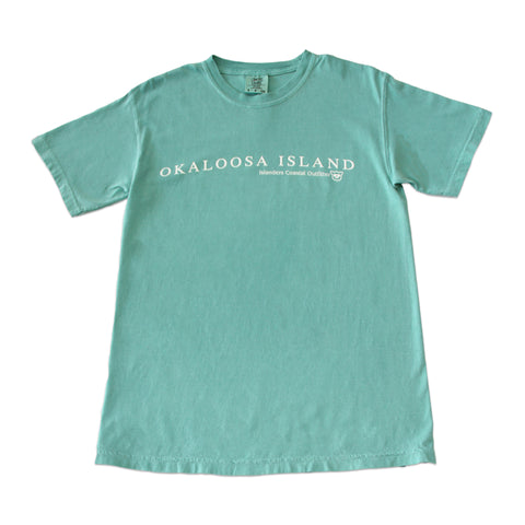 Islanders Simple Okaloosa Island Comfort Colors T-Shirt