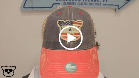 Islanders Pig Face Trucker Hat