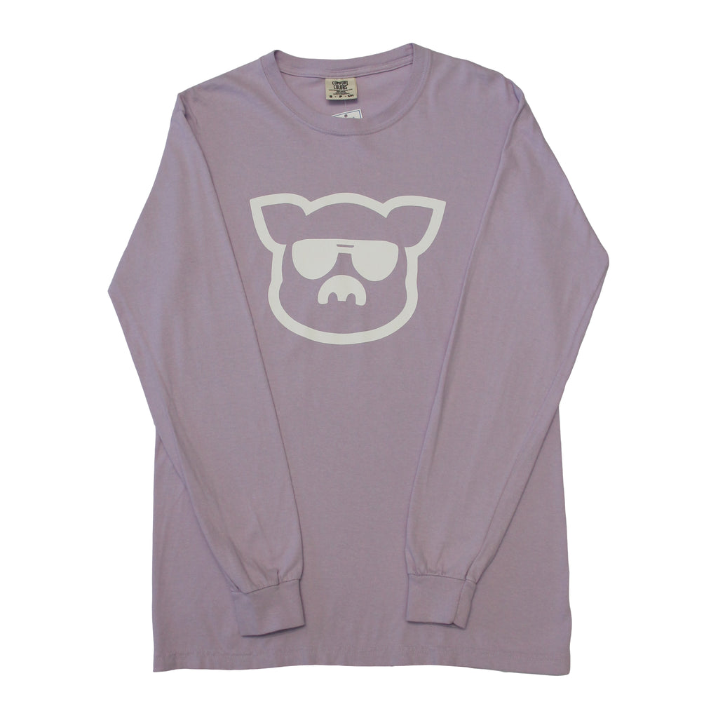 Islanders Pig Face Long Sleeve Comfort Colors T-Shirt
