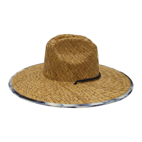 Islanders Collusion Blue Straw Hat