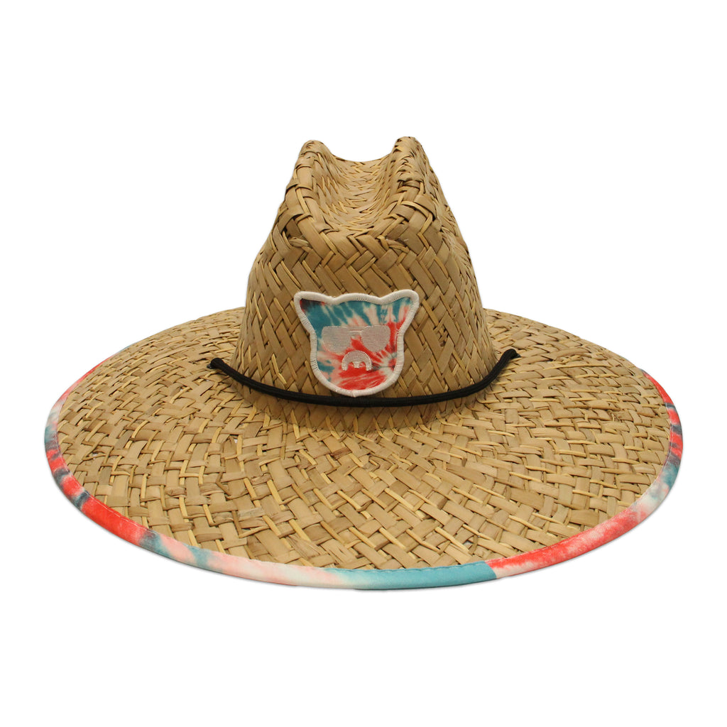 Islanders Helix Red Straw Hat