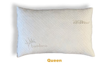 Load image into Gallery viewer, SlimSleeper Shredded Memory Foam Pillow With Bamboo Cover