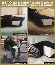 Load image into Gallery viewer, Superior Quality Memory Foam Knee Pillow