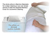 Image of Shredded Memory Foam Pillow with Bamboo Cover ADJUSTABLE THICKNESS