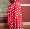"Image of Super Soft Polka Dot Oversized Throw, ""60"" x ""80"""