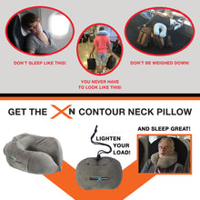 Load image into Gallery viewer, XN Contour Neck Pillow