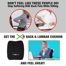 Load image into Gallery viewer, XB Back & Lumbar Cushion