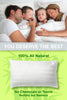 Image of 100% Bamboo Pillow with adjustable thickness