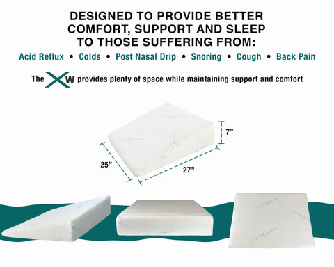 XW Wedge Pillow