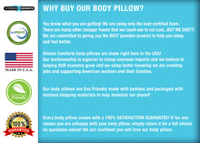 Load image into Gallery viewer, Body Pillow- Kool-Flow Bamboo Shredded Memory Foam