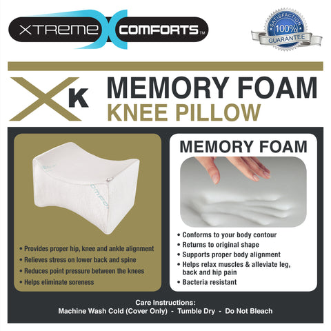 Superior Quality Memory Foam Knee Pillow