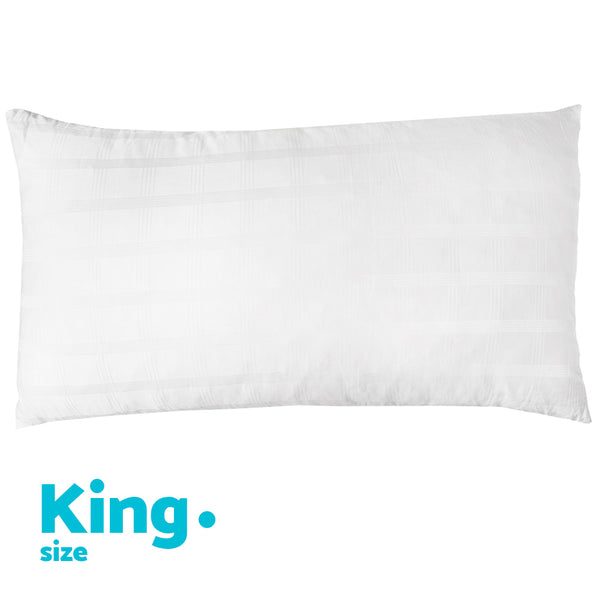 Gel Infused Fiber Memory Foam Pillow with Removable Cover