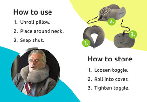 XN Contour Neck Pillow