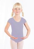 Basic Moves Girls Classic Short Sleeve Leotard