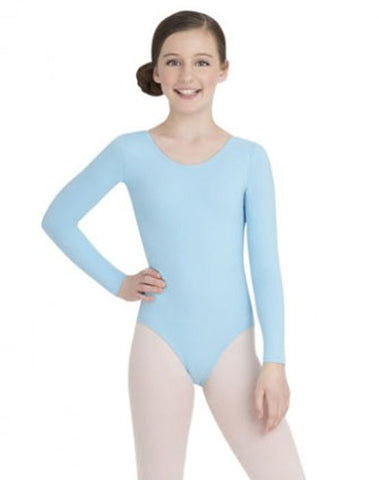 4c12aa408 Capezio Girls Long Sleeve Leotard – Shelly s Dance and Costume