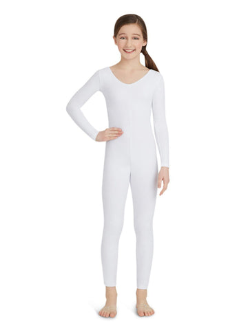 Capezio Girls Long Sleeve Unitard