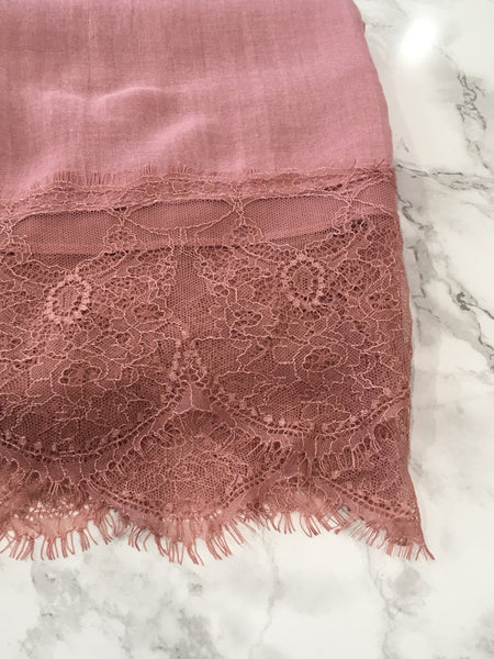 French Lace-Rose