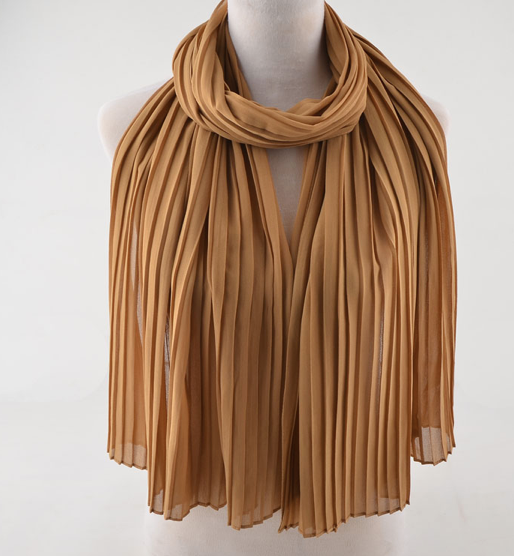 Pleated Chiffons