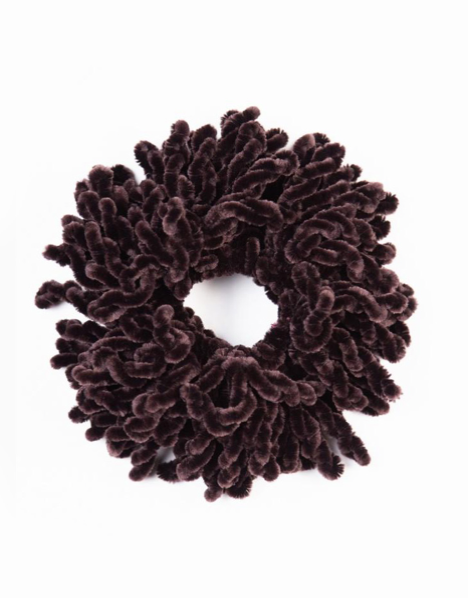Volumizing Scrunchie Brown