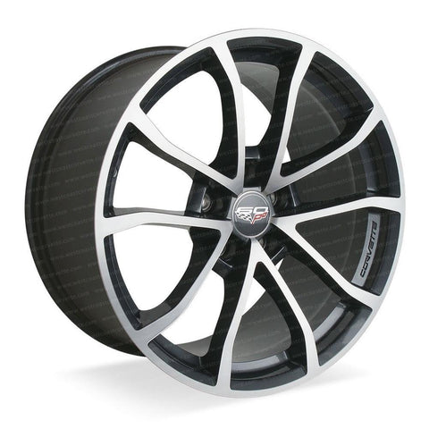 2013 Corvette - Genuine GM - 60th Anniversary - 427 Cup Wheels : Manogian Silver,Wheels & Tires