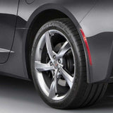 2014 C7 Corvette Stingray Genuine GM Rear Molded Splash Guards.