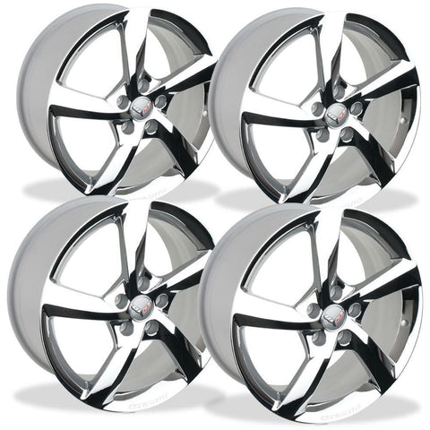 Corvette Custom Wheels Free Shipping