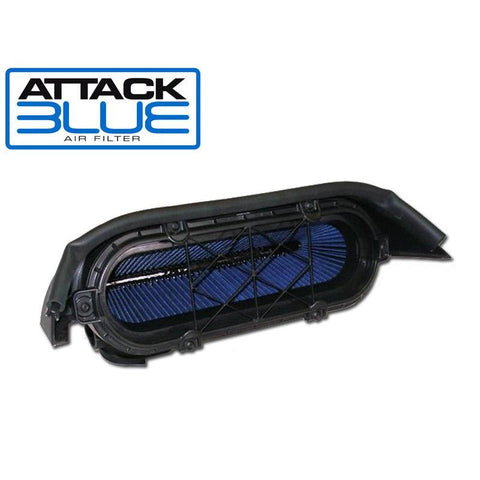 Attack Blue Replacement Corvette Air Filter (09-13 C6 ZR1 - LS9)
